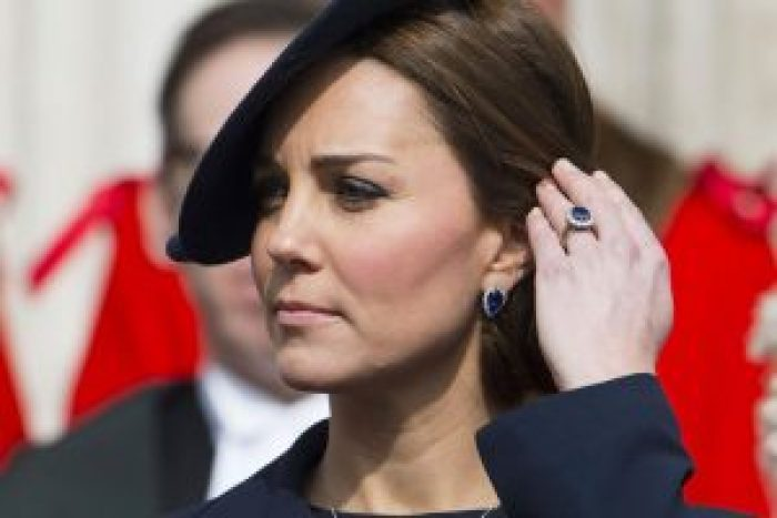 Today, Kate Middleton wears Princess Diana's ring to preserve her memory