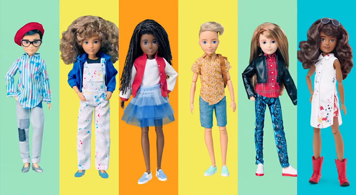 gender neutral barbie dolls