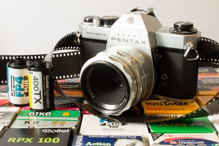 Who Remembers The Days Of Putting Film Into Your Camera?