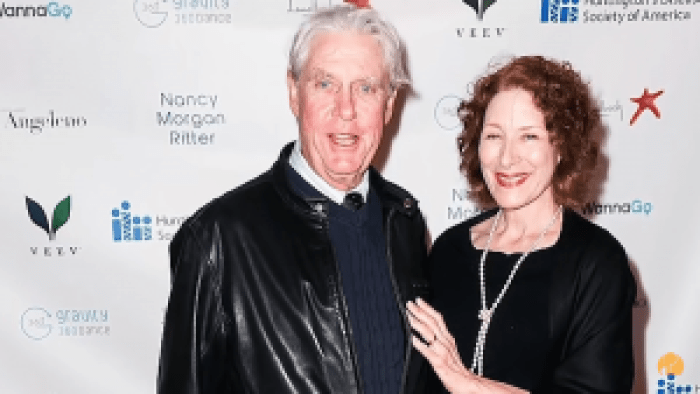 He and Christine Healy, actors both, are now married
