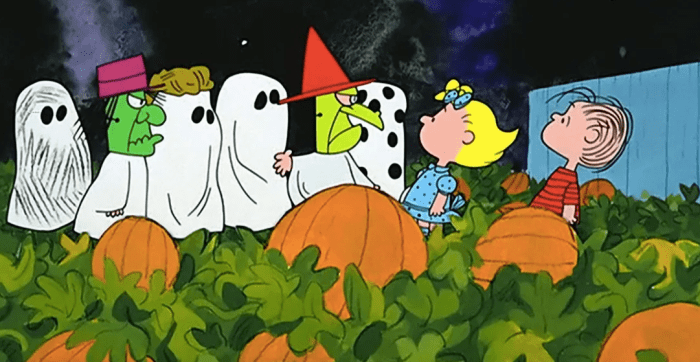when you can watch It's The Great Pumpkin, Charlie Brown this month