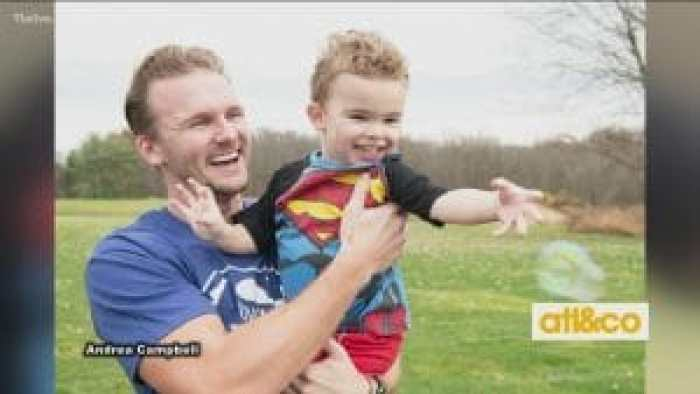 Brooks' uncle Grant stepped up to save his nephew's life and give his own renewed purpose