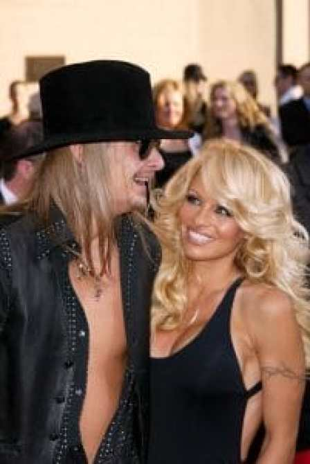 Pam with Kid Rock, 2003