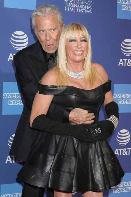 Alan Hamel, Suzanne Somers at the 30th Palm Springs International Film Festival Awards Gala