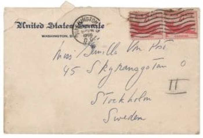 The letters bore official U.S. government letterhead