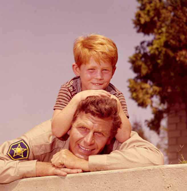 THE ANDY GRIFFITH SHOW, Andy Griffith, Ron Howard, 1960-68