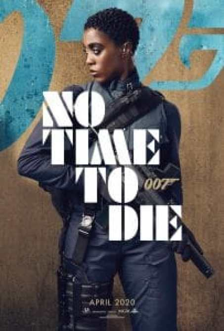 NO TIME TO DIE, US character poster, Lashana Lynch as Nomi