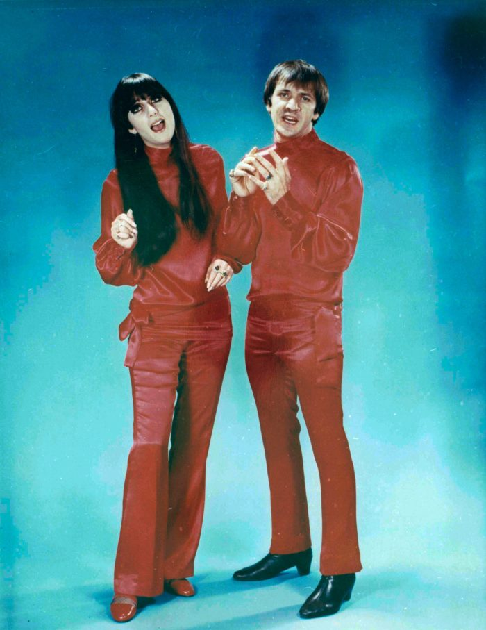 sonny cher matching outfits