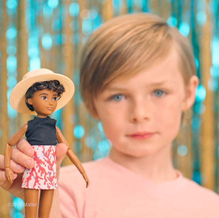 gender neutral doll collection barbie
