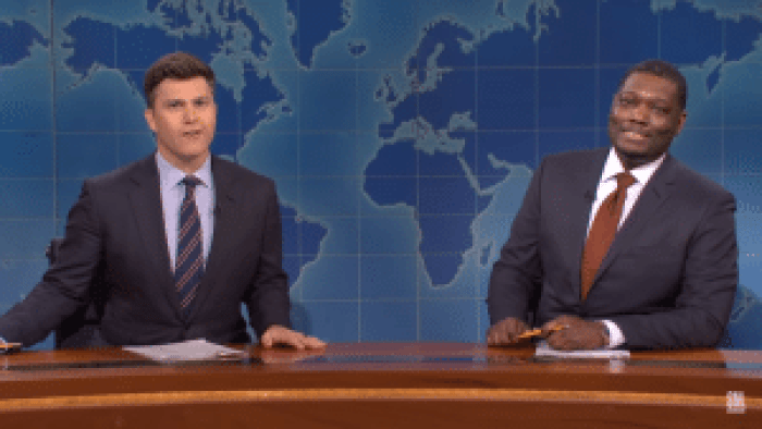 Colin Jost and Michael Che turn over the last jokes to Jost's inspiration, Norm Macdonald