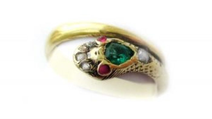 Queen Victoria's serpent ring contained a lot of important symbolism for her time