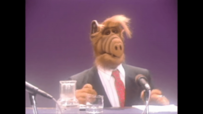 ALF had a way of adding chaos to everyone's lives, so why not throw in a statue