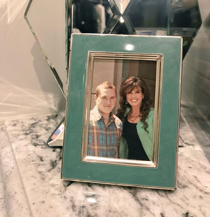 marie osmond son michael photo in frame