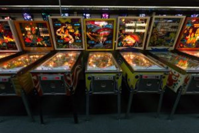 With dubious amounts of skill involved, pinball was considered a gambling game and waste of resources