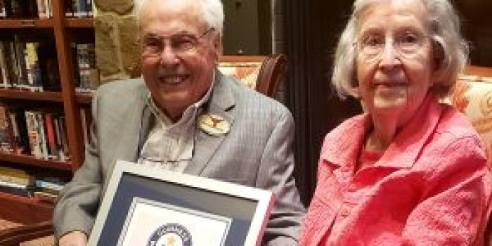 To this day, the oldest living married couple still has a lot of love
