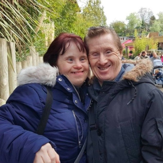 couple with down syndrome together for 24 years