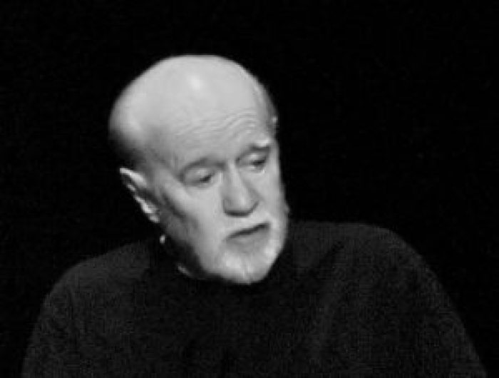 George Carlin made skits that were both amusing and topical