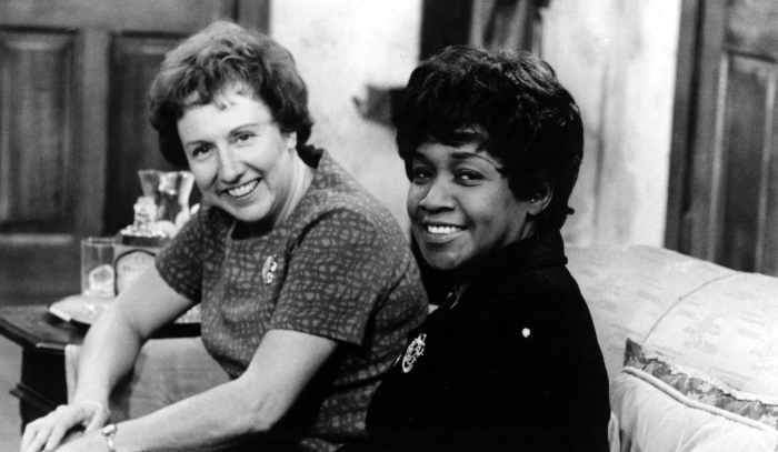 ALL IN THE FAMILY, Jean Stapleton, Isabel Sanford, 1971-79