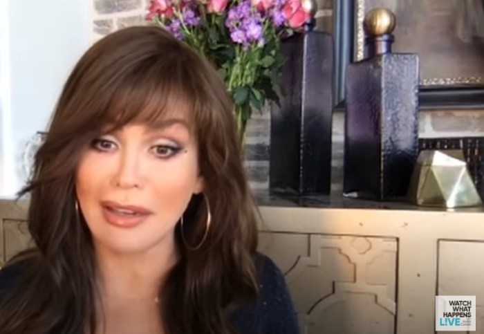 marie osmond on watch what happens live virtual