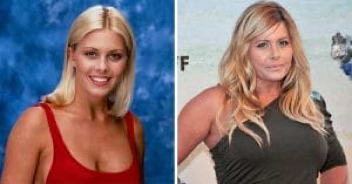 Nicole Eggert during and after Baywatch