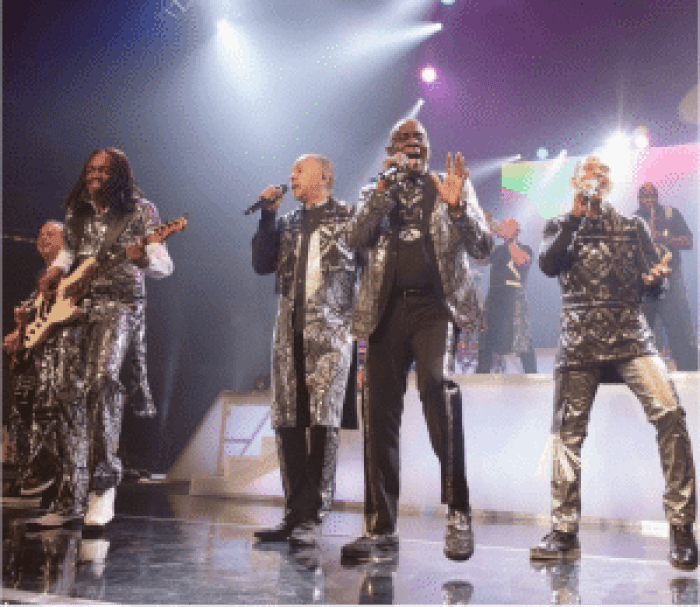 Earth, Wind & Fire was one of the highly-anticipiated acts for NYC's concert