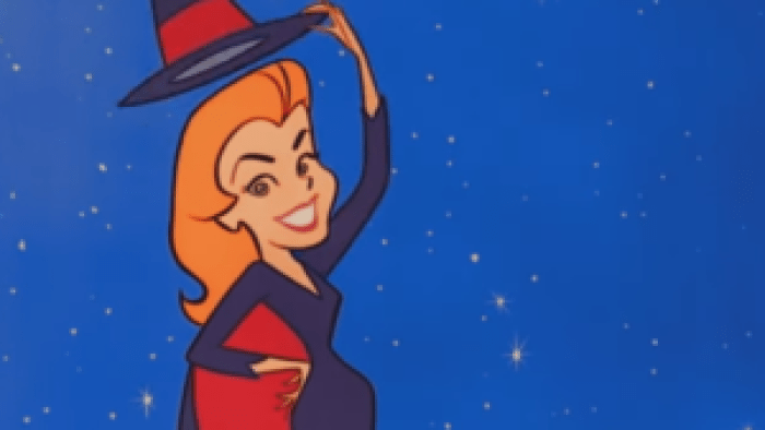 Viewers can see the nose twitch during Bewitched's opening credits