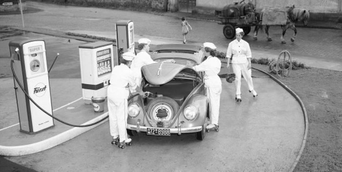 Volkswagen Beetle in 1950s