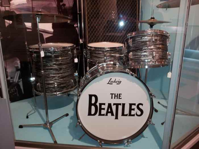 The Beatles Ludwig Drum Set