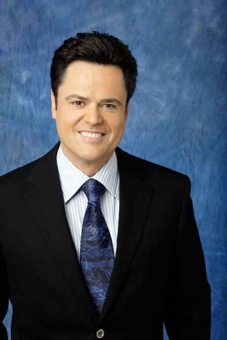 THE GREAT AMERICAN DREAM VOTE, host Donny Osmond