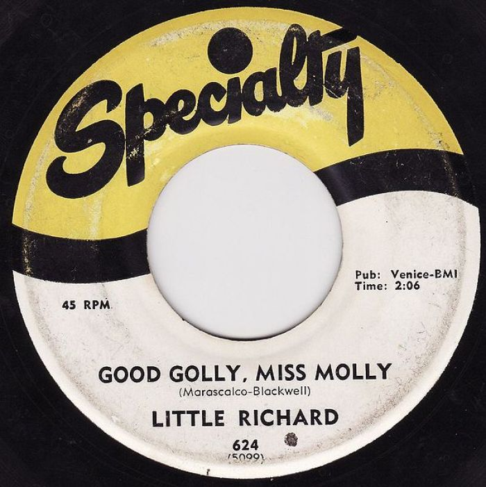 good golly miss molly record little richard