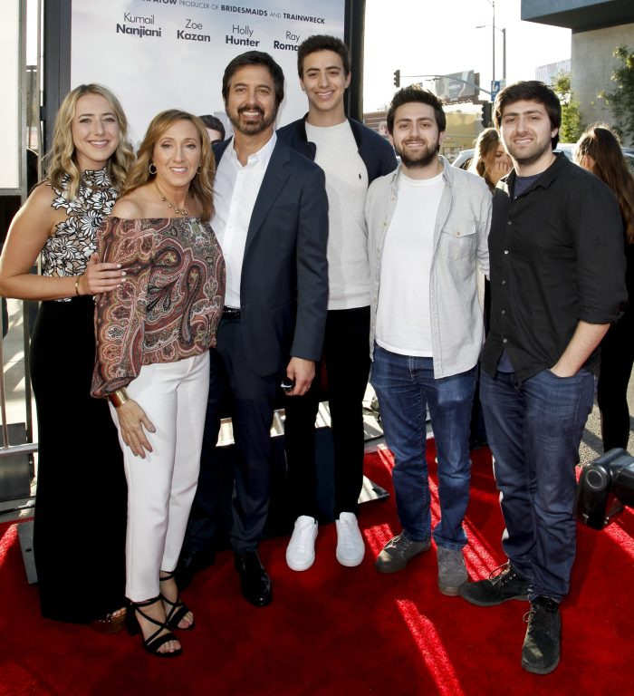 ray romano and his wife and kids