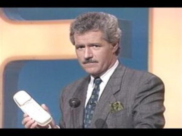 Through body language and swearing, Alex Trebek is hilarious in these new outtakes