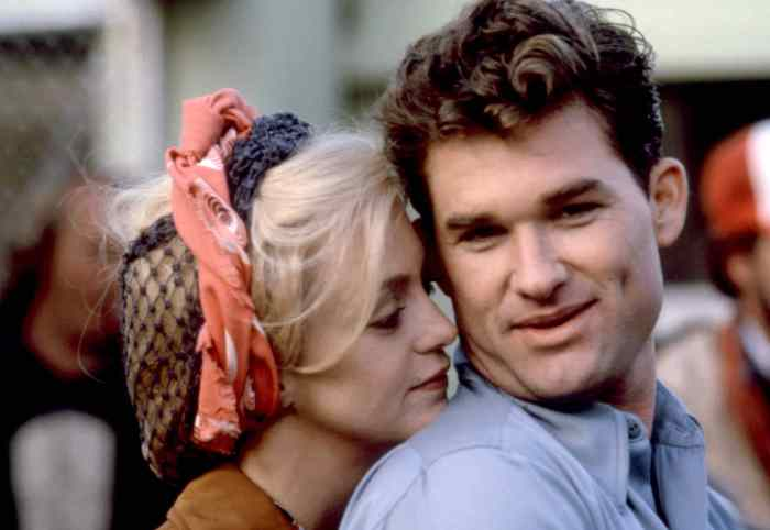 'SWING SHIFT,' Kurt Russell, Goldie Hawn