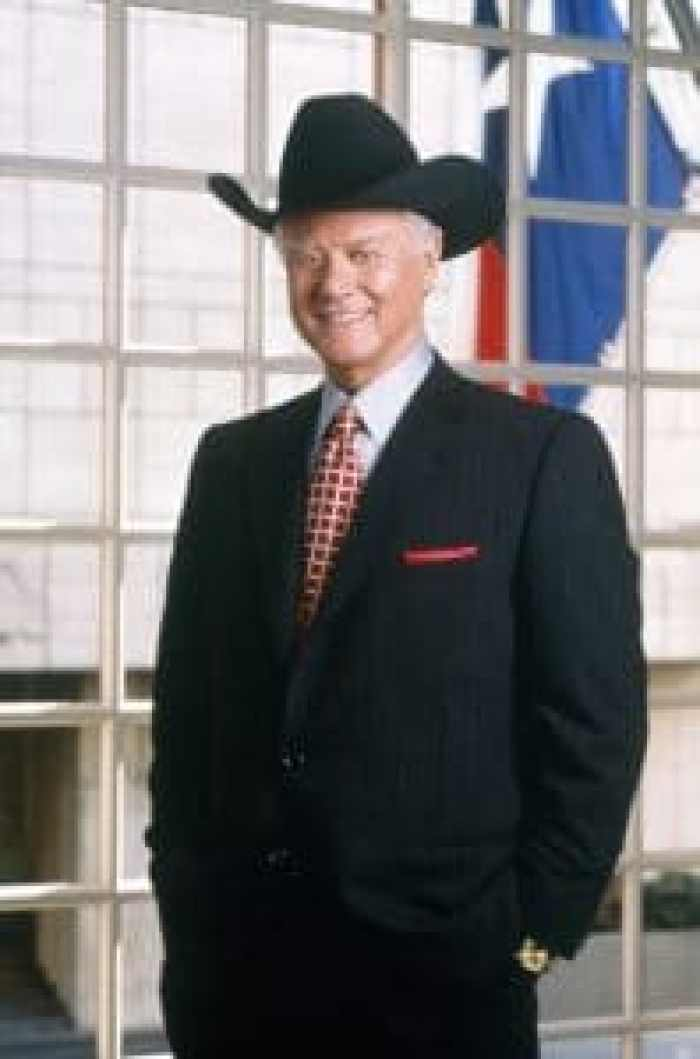 Hagman as the detested J.R. Ewing