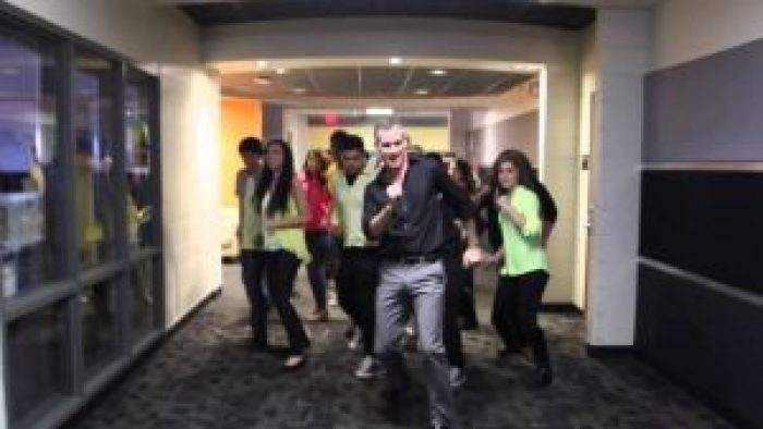 """Teacher Scot Pankey and his students wowed millions with their """"Uptown Funk"""" music video"""