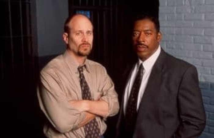 Terry Kinney and Hudson in Oz
