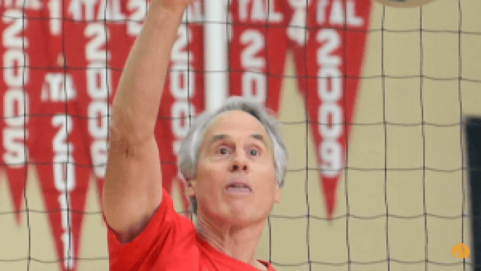 Today, Greer coaches volleyball