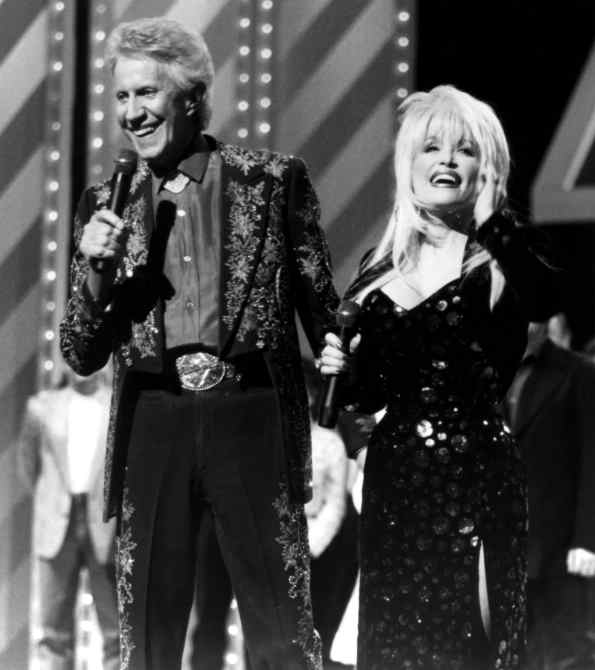 Porter Wagoner, Dolly Parton on A TRIBUTE TO PORTER WAGONER on the Nashville Network