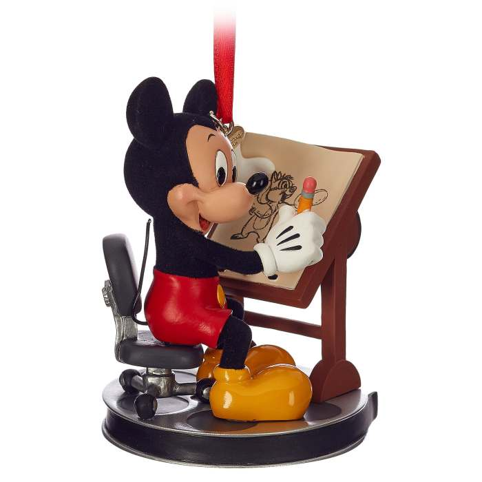 mickey sketchbook ornament disney