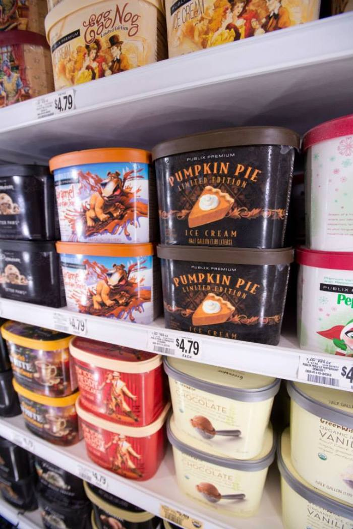 publix limited edition holiday ice cream