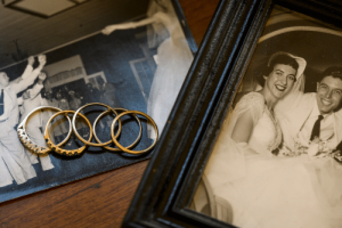 One woman finds strength in the five wedding rings worn by strong, inspiring forebears