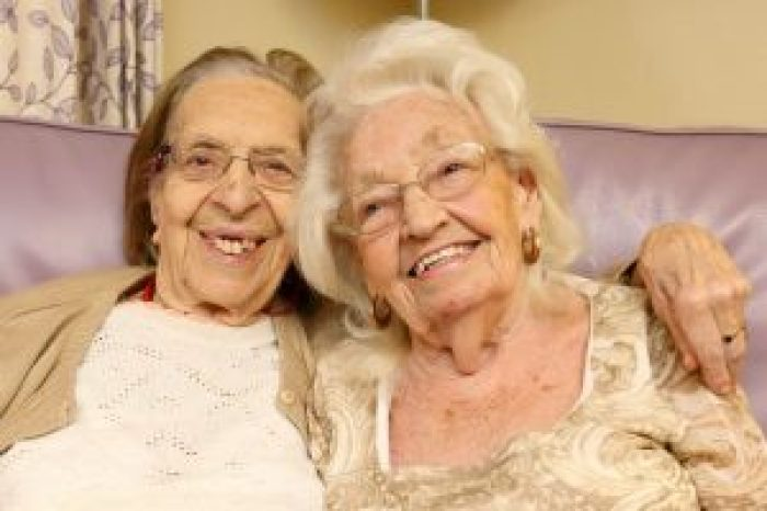 The two first met in 1941 and have been close since