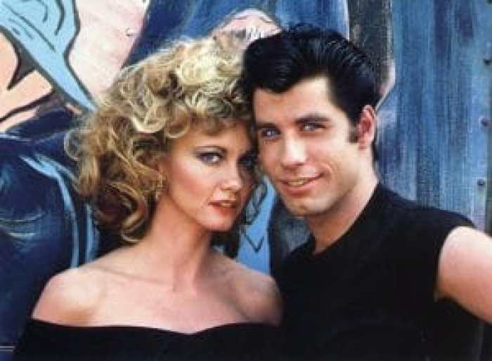 John Travolta had one of the most famous iterations of the elephant trunk style in 1978's Grease
