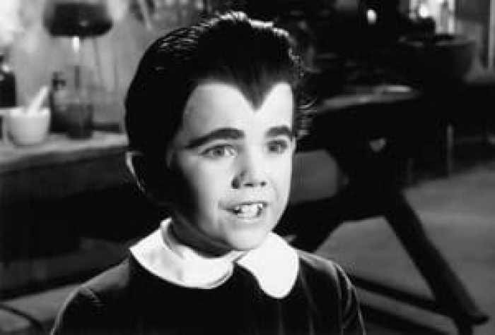 Butch Patrick, who road with Rob Zombie, in the Munsters Koach