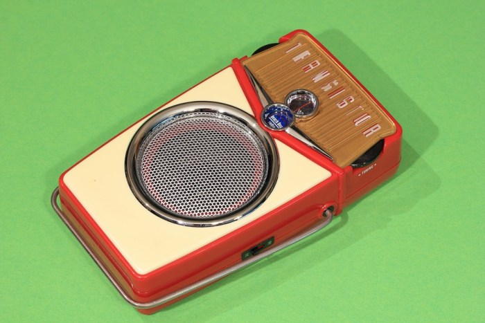 did you ever own a transistor radio