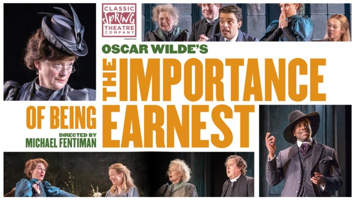 Oscar Wilde's The Importance of Being Earnest