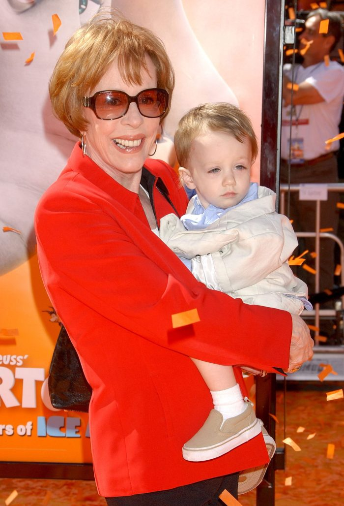 carol burnett and baby grandson dylan