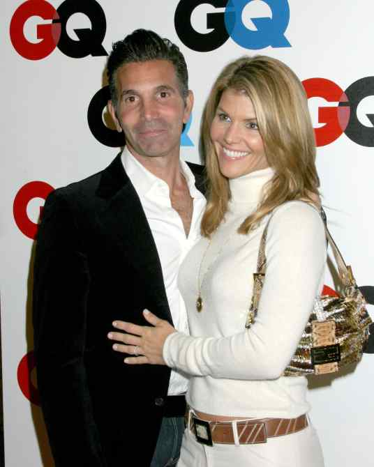 Mossimo and Lori Loughlin GQ Magazine 2005 Men of the Year Party
