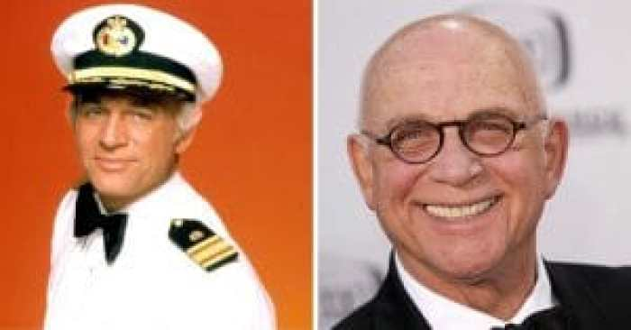 Gavin MacLeod of The Love Boat cast then and after