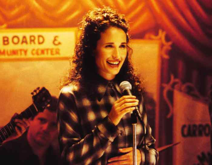 andie macdowell in the 90s